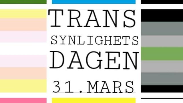 Transsynlighetsdagen 31.mars