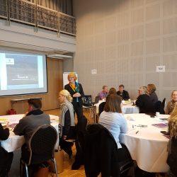Workshop for Kvinesdal kommune med Goro Ree-Lindstad ved Likestillingssenteret