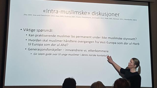 Likestillingsforum med Solveig Omland