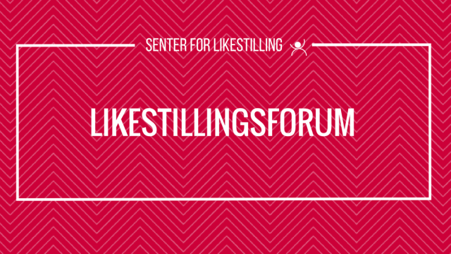 Likestillingsforum med Lisa Whitehead 26. september