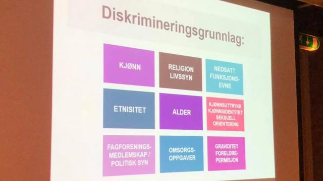 Kurs med LDO om den nye likestillings- og diskrimineringsloven