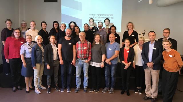 Møte i referanseforum- Trygghet, mangfold, åpenhet