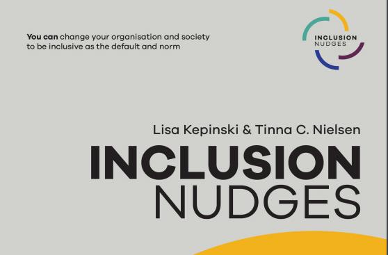Ny bok om inkluderende nudges tilgjengelig!